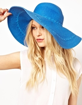 O que vestir na praia - chapéus