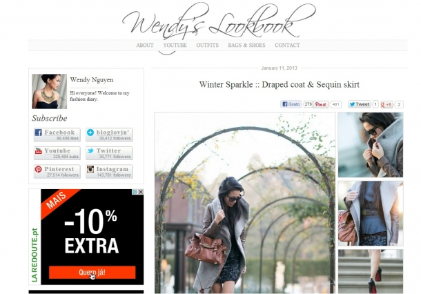 Blogs de Moda Internacionais - Wendy's Lookbook
