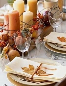 Decoração Mesas Casamento - outono