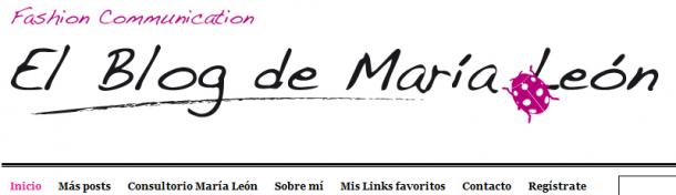 el blog de maria leon
