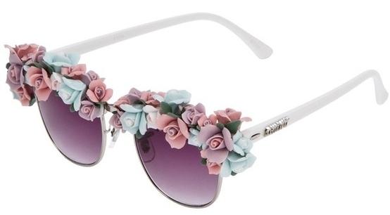 Óculos de Sol - Flores