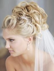 Penteados de Noiva com Véu - apanhado
