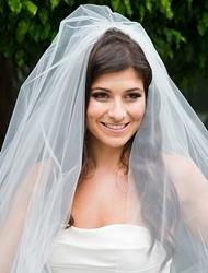 Penteados de Noiva com Véu - solto