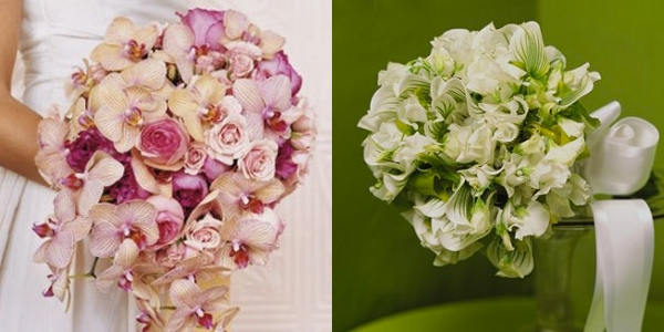 Ramos de Noiva com Orquídeas (1)