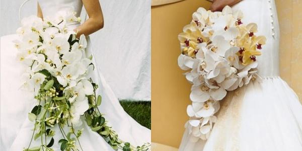 Ramos de Noiva com Orquídeas (3)