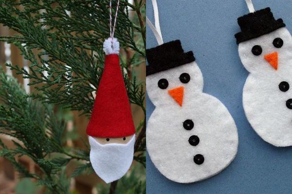 Sugestões de Enfeites de Natal de Feltro (2)