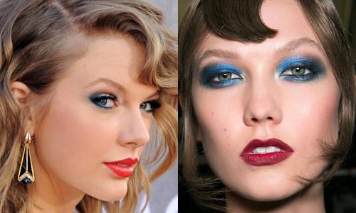 Tendência de Maquilhagem de Olhos: Azul (4)
