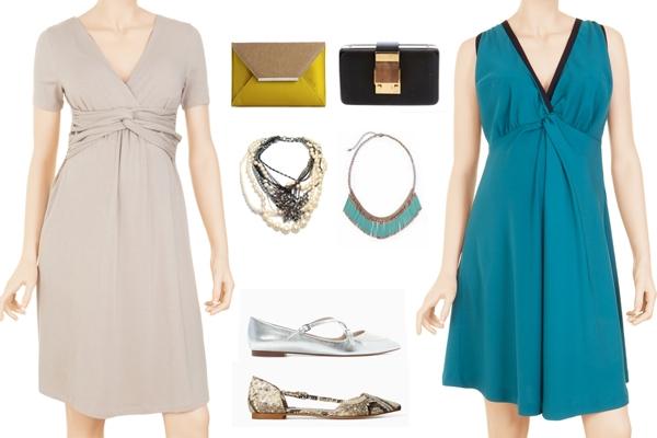 Vestidos de Festa para Grávidas: 5 Looks que Vai Adorar (2)